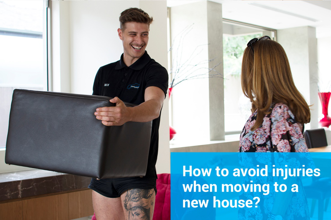How to avoid injuries when moving to a new house?