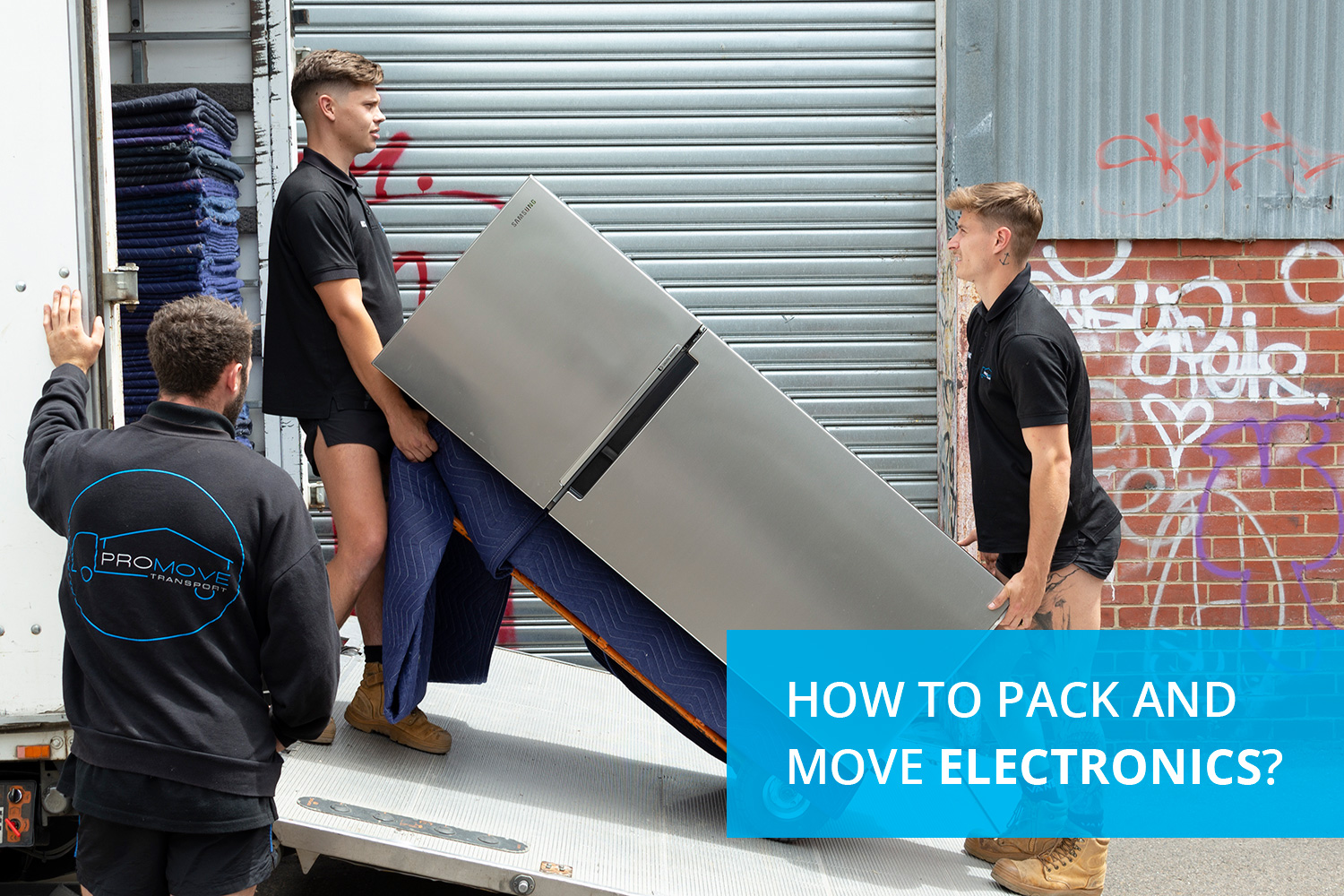 How to Pack and Move Electronics?